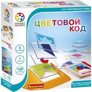 Bondibon Игра Цветовой код (BB0352/SG090RU) bondibon bondibon логическая игра антивирус