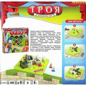 Bondibon Игра Троя (BB0852/SG280RU) bondibon обучающая игра замок загадок нескучный город