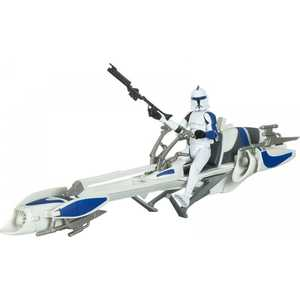 Hasbro Космический Корабль. Barc Speeder Bike With Clone Trooper 36576H (37745)