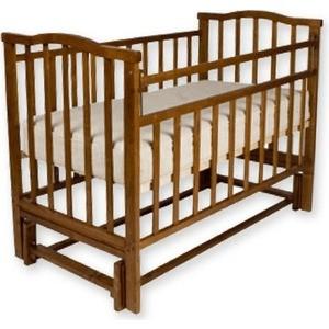 Фотография товара кроватка Агат Золушка 5 (шоколад) (147608)