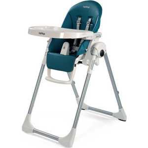 Стульчик для кормления Peg-Perego Prima Pappa Zero-3 (petrolio) вкладыши и чехлы для стульчика esspero сменный чехол для peg perego tatamia siesta sport leatherette