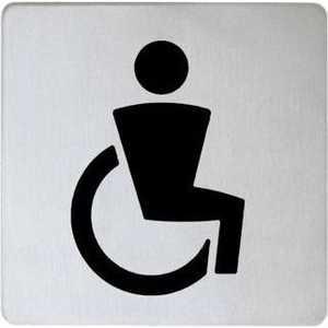 Табличка на дверь Keuco для инвалидов (14968010000) табличка на входную дверь wc