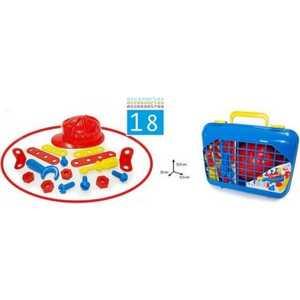 Palau Игровой набор инструментов в чемодане 18 предметов 07/1325