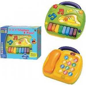 Playgo Развивающий центр ''Телефон и пианино'' Play 2185