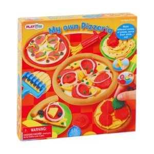 Playgo Набор с пластилином Моя пиццерия Play 8225 hasbro play doh игровой набор из 3 цветов цвета в ассортименте с 2 лет
