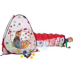 Paradiso Дом-палатка 104х104х110 с шариками и туннелем 48х180 T02800
