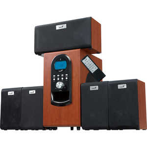 Компьютерные колонки Genius SW-HF5.1 6000cherry wood