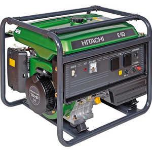 Генератор бензиновый Hitachi E40  генератор бензиновый hitachi e35