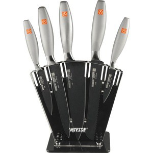 Набор ножей Vitesse из 6-ти предметов VS-2708 набор ножей vitesse vs 2719 набор нож овощечистка доска