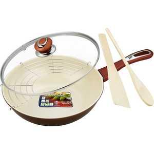 Сковорода wok Vitesse D 26 см (3 л) VS-7655 сковорода d 26 см vitesse jewelry gold vs 2502