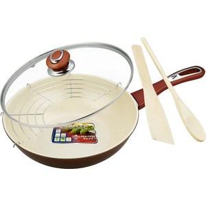 Сковорода wok Vitesse D 28 см (4 л) VS-7656