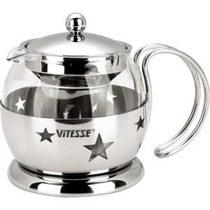Заварочный чайник Vitesse 0.7 л VS-8317 чайник заварочный vitesse цвет серый 0 9 л