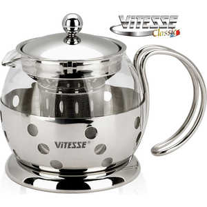 Заварочный чайник Vitesse 0.7 л VS-8319 vitesse vs 1590
