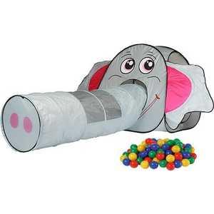 Игровой домик Calida ''Слоник'' с туннелем и 100 шаров 652