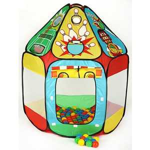 Игровой домик Calida ''Спорт'' и 150 шаров 678