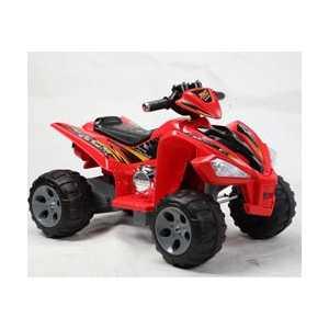 Электроквадроцикл Jiajia js007 6v красный js007 от ТЕХПОРТ
