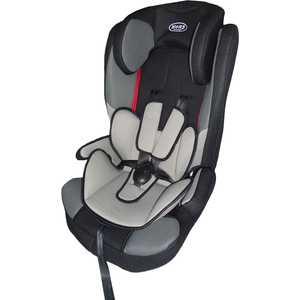 Автокресло Lucky Baby (9-36кг) серо-черное LB508 от ТЕХПОРТ