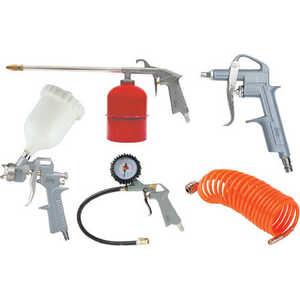 Набор пневмоинструмента Fubag Kit 5A 5 предметов (120101) пневмопистолет для нанесения цементных растворов хопр в одессе