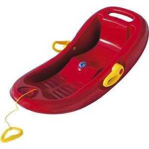 Корыто KHW ''Snow Flipper de Luxe'' (красный) с тормозом 26001