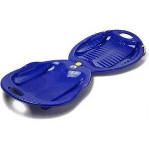 Тарелка KHW Swing двойная (синий) 76232