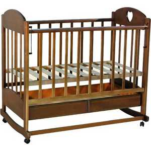Кроватка Ведрусс ''Иришка 2'' (орех)