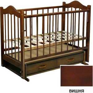 Кроватка Ведрусс ''Кира 4'' (вишня)