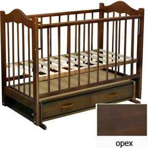 Кроватка Ведрусс ''Кира 4'' (орех)