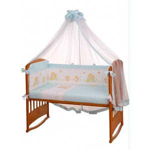 Фотография товара комплект постельного белья Perina ''Фея'' 7 предметов (голубой) Ф7-01.4 (151962)