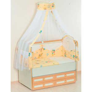 Комплект в кроватку Сдобина 5 предметов (бежевый) 25.4 стоимость