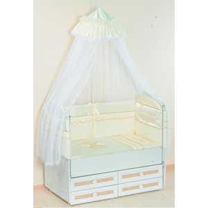 Комплект в кровать Сдобина Друзья 7 предметов (бежевый) 81