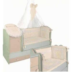 Комплект в кровать Сдобина 7 предметов (бежевый) 78