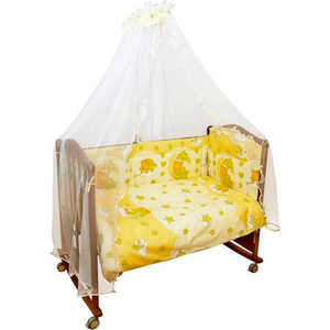 Фотография товара комплект в кроватку Сонный Гномик ''Мишкин сон'' 7 предметов (бежевый) 703/4 (152160)