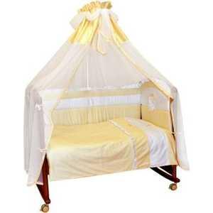 Комплект в кроватку Сонный Гномик ''Пушистик'' 7 предметов (бежевый) 710