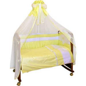 Фотография товара комплект в кроватку Сонный Гномик ''Пушистик'' 7 предметов (салатовый) 710 (152167)