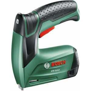 Степлер аккумуляторный Bosch PTK 3.6 Li (0.603.968.120) степлер электрический bosch ptk 14 edt 0 603 265 520