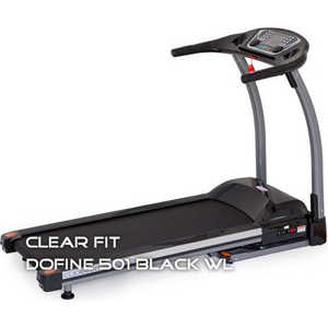 Беговая дорожка Clear Fit Dofine-501 Black WL NEW
