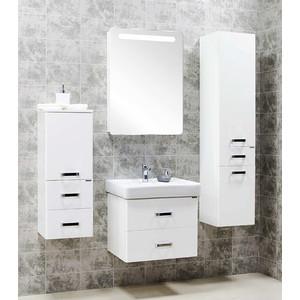 Комплект мебели Акватон Америна 60 белая зеркало шкаф акватон америна подвесная