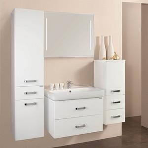 Комплект мебели Акватон Америна 80 белая тумба под раковину акватон америна 70 н 1a169301am010