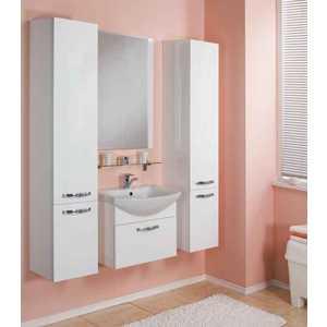 Комплект мебели Акватон Ария 65 белая  комплект мебели акватон ария 65 н тёмно коричневая