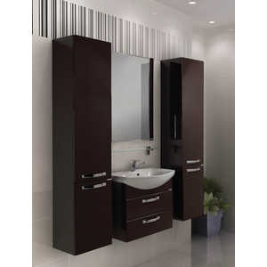 Комплект мебели Акватон Ария 65 м тёмно-коричневая комплект мебели акватон ария 65 н тёмно коричневая