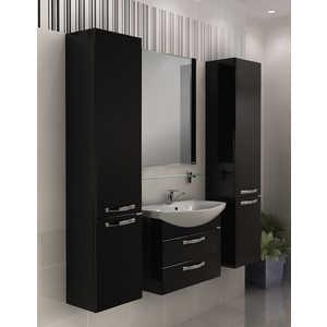Комплект мебели Акватон Ария 65 м чёрная акватон мебель для ванной акватон минима