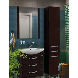 Комплект мебели Акватон Ария 65 н тёмно-коричневая  комплект мебели акватон ария 65 н тёмно коричневая