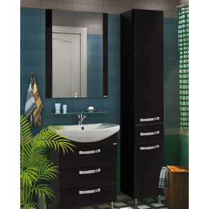 Комплект мебели Акватон Ария 65 н чёрная  комплект мебели акватон ария 65 н тёмно коричневая