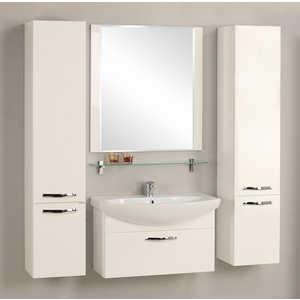 Комплект мебели Акватон Ария 80 белая гарнитур для ванной акватон акватон ария 50м