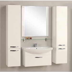 Комплект мебели Акватон Ария 80 белая акватон мебель для ванной акватон римини 80 белая