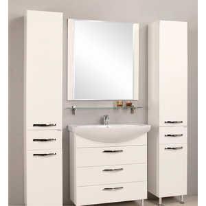 Комплект мебели Акватон Ария 80 н белая акватон мебель для ванной акватон римини 80 белая