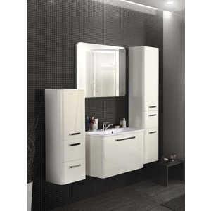 Комплект мебели Акватон Валенсия 75 бел металлик (белый жемчуг) акватон мебель для ванной акватон венеция 75 черная