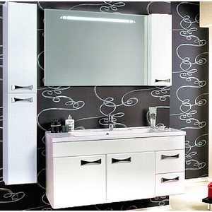 Комплект мебели Акватон Диор 120 белый комплект мебели акватон симпл шкафы