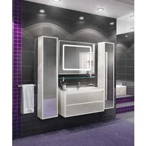 Комплект мебели Акватон Римини 100 белый акватон мебель для ванной акватон римини 80 белая