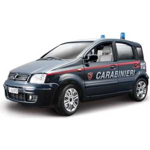 Автомобиль Bburago 1:24 Security Force Fiat Nuova panda carabinieri (2003) 18-22067